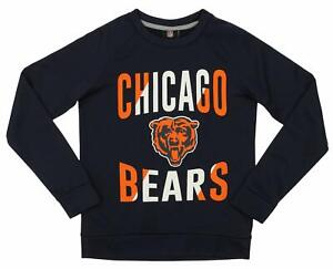 Outerstuff NFL Youth/Kids Chicago Bears Performance Fleece Crew Neck Sweatshirt