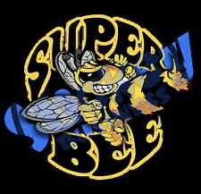 6 inch Super Bee Decal Cut to Shape