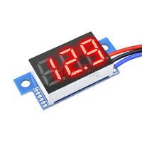 RED LED Panel Meter Digital Voltmeter DC 0-99.9V W