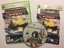 XBOX 360 GAME BATTLESTATIONS: MIDWAY +BOX & INSTRUCTIONS COMPLETE PAL disc VGC!