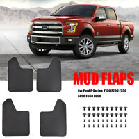 XUKEY Splash Guards For Ford F-Series F-150 F150 Mudflaps Mud Flaps Mudguard