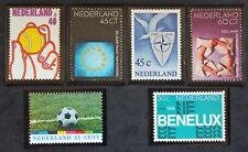 Sello PAÍSES BAJOS - 6 sellos de 1974 n (Cyn28) Países Bajos Stamp