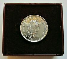 Brian May Queen Original 1993 First Pick Sixpence Coin Guitar Plectrum + Box