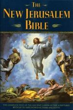 The New Jerusalem Bible: The Complete Text of the Ancient Canon of the Scripture