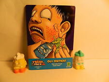 Trash Pack Series 3 # 410 & 406 Oily Ointment & card    **New out of pack**
