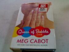 MEG CABOT: QUEEN OF BABBLE HB/DJ  *MC*