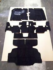 1975 1976 DATSUN 280Z COMPLETE FLOOR REPLACEMENT BLACK CUT PILE CARPET