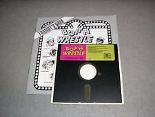 Bop'n Wrestle for Commodore 64 C64 5.25 Game Disk with Instruction Manual GREAT