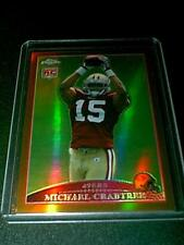 Michael Crabtree San Francisco 49ers 2009 Topp Chrome Refractor #'d 15/649