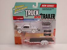Rare Johnny Lightning Truck & Trailer 1996 Dodge White Lightning Chase 1 of 87