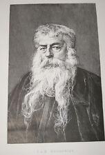 MEISSONIER-GRAVURE-PORTRAIT,1895
