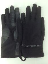 Women's ISOTONER Brand Black Winter Dress Gloves - size XS/S - $52 MSRP - 25%
