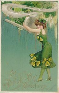 ST. PATRICK'S DAY – Schmucker Art Nouveau St. Patrick's Day Greetings Postcard