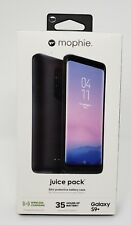 NEW Mophie Juice Pack External Battery Case - BLACK - SAMSUNG GALAXY S9+ PLUS