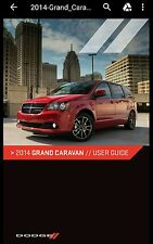 2014 DODGE GRAND CARAVAN USER GUIDE PRINTABLE 156 page MANUAL pdf file format