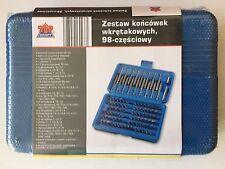 TopCraft® Bit Set 98 Teilig Bit-Satz inkl. 17 Lang-Bits NEU