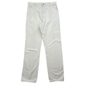 Vintage 80s Carhartt White Painters Cargo Pants Mens 34x34 Union Made In USA