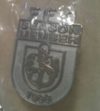 FREMANTLE FOOTBALL CLUB MEMBERS MEDALLION 1999.BRAND NEW. OFFICIAL