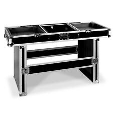 DJ cercueil FLIGHT-CASE Portable Table mobile Gig prêt rembourrée MIXER CD Pont