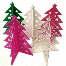 Christmas Tree Table Decorations - Several Sizes & Colours