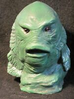 """5"""" Creature From The Black Lagoon Latex MiniBust Famous Monsters Glass Eyes"""