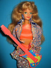B378-vieja barbie Midge and the Beat #2752 mattel 1990 completamente + quedado comprome joyas.
