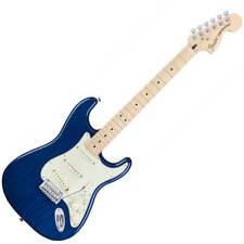 Fender Deluxe Stratocaster - MN - Sapphire Blue Transparent