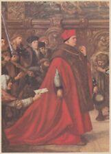 C4620 Il Cardinale Tommaso Wolsey - Stampa d'epoca - 1958 vintage print