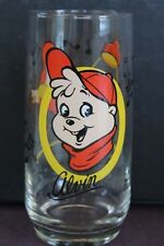 "Vintage Alvin & The Chipmunks ""Alvin"" Libby Drinking Glasses 1985 Bagdasarian"