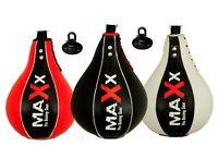 Boxing Speed Ball & Swivel Boxing PunchBag Training Speedball MMA Maxx Leather