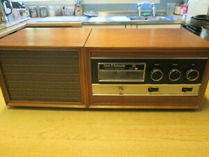 Stereo 8 by Radiomobile 8 Track Player With Speaker Vintage Working
