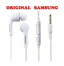 KIT PIETON ECOUTEURS SAMSUNG ★INTRA AURICULAIRE BLANC ★ GALAXY NOTE WAVE...