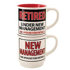 Our Name is Mud ONM4056383 Retired Stacking Mugs Set