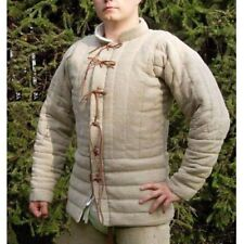 Halloween Gift Gambeson Medieval-Reenactment Camel Super Fancy Dress jacket