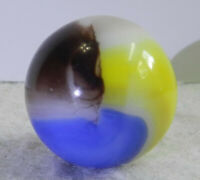 #11304m Vintage Vitro Agate Shooter Marble .87 Inches
