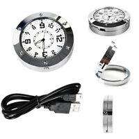 Mini Wireless Clock Camera Pinhole Sound Spy Hidden Security Video Camorder Cam