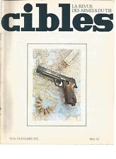 CIBLES N°40 WALTHER P.38 / PISTOLETS ASTRA / MODERNE CHASSEPOT / P.M MAT 49