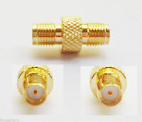 SMA Female Jack to SMA Female Jack Double Straight RF Connector Adapter New