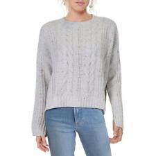 Habitual Feminina Shea Clyde Lã Mistura Cabo Knit suéter pulôver blusa 7757 BHFO