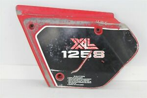 1981 Honda XL125S Air Box Shroud Cover Plastic