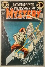 """House of Mystery #209 (1972) FN- """"For Money...For Love!"""" Wrightson Cover Art!"""