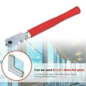 Tipped Glass Diamond Watt Cutter 6 Wheel Steel Ferrule Cutting Craft Hand Tool