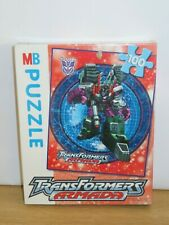 Transformers Armada 100 Piece Jigsaw Puzzle. New & Sealed. 2003 Hasbro