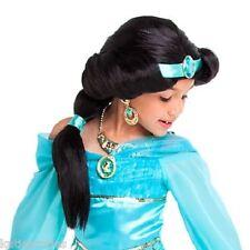 Disney Store Aladdin Princess Jasmine Costume Styled Wig Cameo Gem