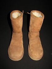 Ugg Australia Chestnut Suede Sherpa Lined Pullover Boot Women's 8M