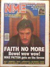 NME New Musical Express 18/2/95 Faith No More, Bluetones, Supergrass, EMF