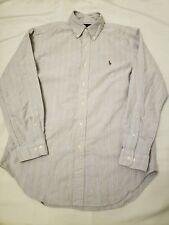 Ralph Lauren Vintage Mens Flannel Long Sleeve Button Up Shirt Sz 15.5 32/33