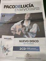 Paco De Lucía.2011.cartel