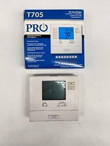 Programmable Digital Thermostat PRO1 T705 Single Stage AL AC Air Conditioner
