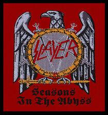 SLAYER - Patch Aufnäher - Seasons in the abyss RAR!